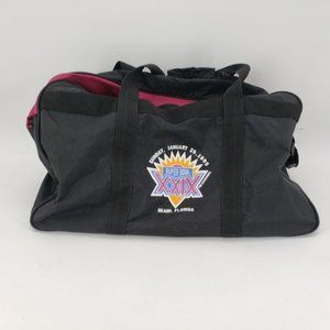 Vintage Logo Athletic Super Bowl XXIX 1995 Duffle